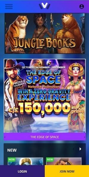 Мобильная версия казино Иви